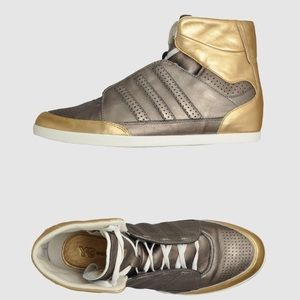 low priced b8136 e176c Y-3 Honja Gold and Bronze high top sz 10 w men 8